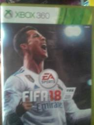 Título do anúncio: Vendo FIFA 18 xbox 360 =100,00 reais