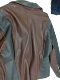 Blusa de frio couro