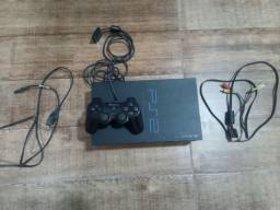 Playstation 2 FAT leitor com defeito