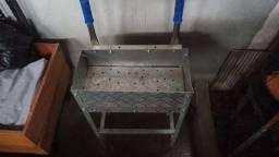 Churrasqueira de alumínio  !  vender barato 80 reais