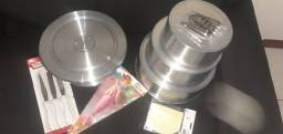 Material para fazer bolo