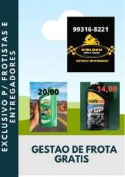 Título do anúncio: Óleo para motor Lubrax / Fortlub - Frotista -Ifood /Ubereats /99