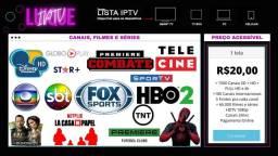 TV Box, Smart TV e Celular R$20