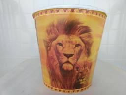 Balde de pipoca Rei Leão