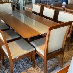 Mesa nova completa pronta entrega de madeira total