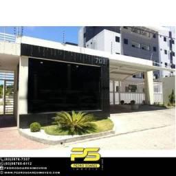 Apartamento com 3 dormitórios à venda, 85 m² por R$ 270.000 - Portal do Sol - João Pessoa/