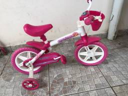 Bicicleta aro 12 - rosa