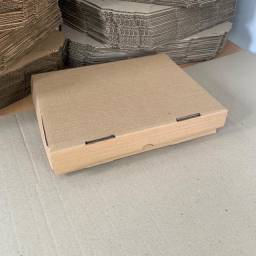 Caixa de papelão para salgado
