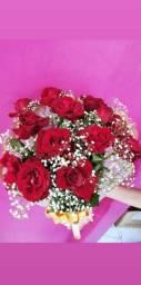 Presenteie com lindos buquê de rosas