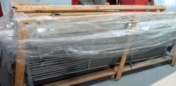 Evaporadora de alta vazão com três ventiladores Mipal. Para túnel.<br>