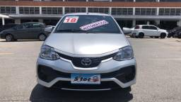 Toyota etios 2017/2018 1.3 x 16v flex 4p manual