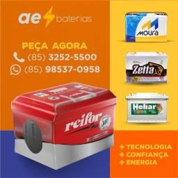 Título do anúncio: Bateria duster, bateria 60 amperes, bateria gol e bateria vectra com 1 ano de garantia