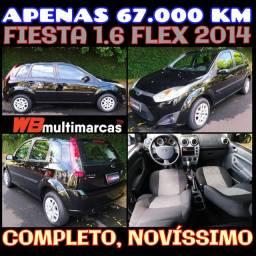 Fiesta 1.6 Completão com baixo KM