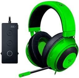 Título do anúncio: Fone De Ouvido Over-ear Gamer Razer Kraken Tournament Edition Green