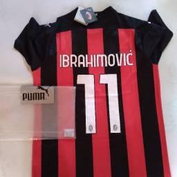 Camisa Milan 11 Ibrahimovic Temporada 2020-2021