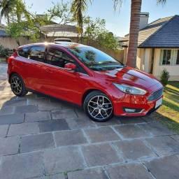 Ford Focus Titanium Plus *Ano 2016* *Placa i* *57.000 km