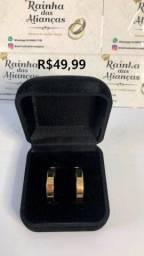 Título do anúncio: Alianças para casamento/noivado em Aço Inox Dourado