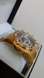 Relógio Invicta Excursion Ouro 18k
