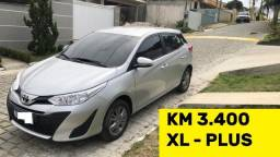 Título do anúncio: Yaris xL Plus Km 3.400 Oportunidade