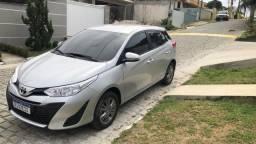 Título do anúncio: Toyota Yaris XL 2020 Aut. - 3 mil km - Somente isso ((((( 3 MIL )))))