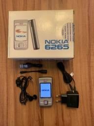 Celular Retrô Nokia 6265 raridade para colecionador
