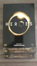 Coleção DVD HEROES