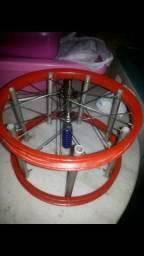 Carritilha de aro 16 de bike gira muito mais um tubo de linha e 5 papagaios 20 em tudo