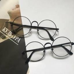 Armação para óculos de grau redondo estilo Harry Potter