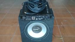 Modulo mono stereo + caixa selada