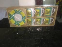 Conjunto de xícaras para cafezinho