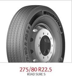 Pneus Rodoviário Liso 275/80 R22.5 Uniroyal - Fabricado pela Michelin!