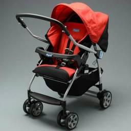 Carrinho de bebê rio k burigotto red
