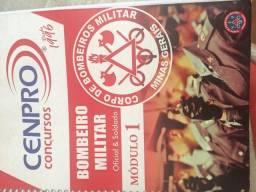 Apostila para concurso bombeiro- 99 reais