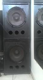 Som mecânico completo para festas e eventos DJS