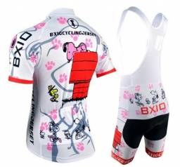 Conjunto feminino ciclismo tamanho M