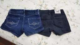 Shorts americanos tam 8