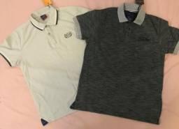 2 Camisas polo Skyler NOVA tamanho P original e nunca usada
