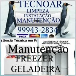 Manutenção de Freezers e Geladeiras 999432834