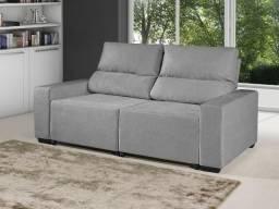 Sofá Retrátil Reclinável 3 Lugares Suede Elegance - American Comfort. Produto Novo