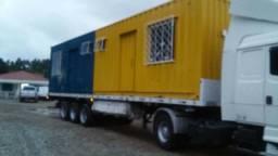 Container Kitinete 40 pés 2 unidades em 1 container