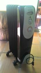 Aquecedor Elétrico À Óleo 1500w Pelonis 3 Temperaturas 220v
