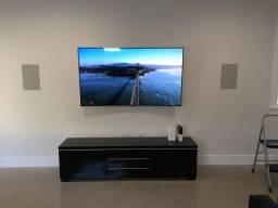 Suporte tv 60$$ levo e instalo