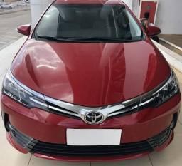 Toyota Corolla xei 2.0 automático vermelho 17/18 - 2018
