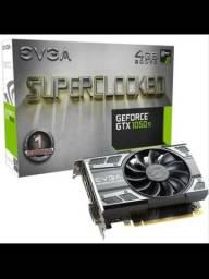 1050 ti 4gb SuperClocked EVGA *USADA