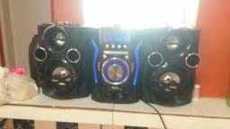 Mini system 260 bluetooth 350 com nota fiscal