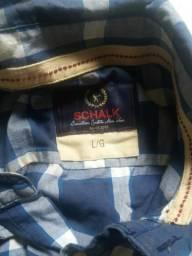 Camisa xadrez da shalck original