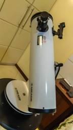 Telescópio Refletor Newtoniano Parabólico com abertura de 130mm