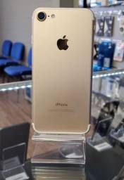 iPhone 7 32gb semi novo gold