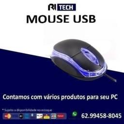 Mouse Usb com fio 1000dpi Multilaser - Ritech - loja fisica