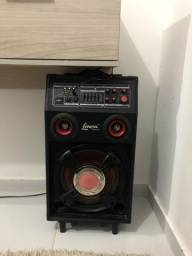Caixa de som amplificada para CASA MULTIUSO